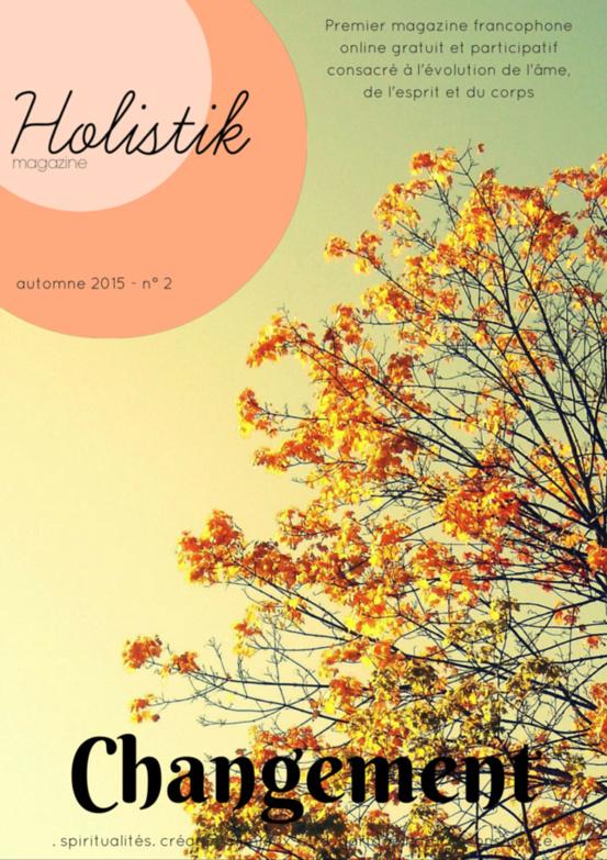 Holistik Magazine est de sortie pour l'automne !!