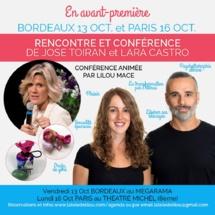 Conférence de Jose Toiran et Lara Castro sur la sexualité épanouie !
