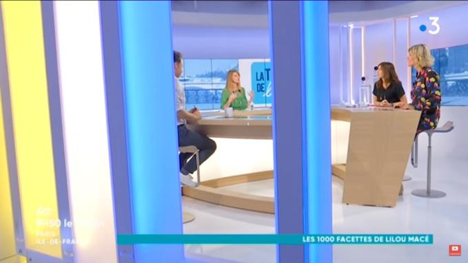 France 3 Ile de France : La Télé de Lilou a la télé !