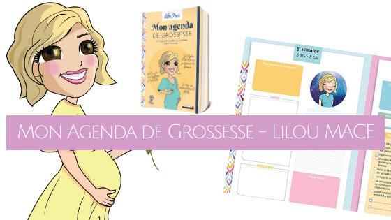 Mon agenda de grossesse - Lilou Macé