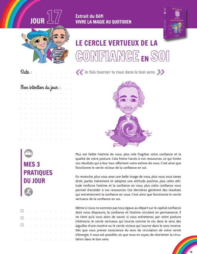 JOUR 17 : DÉFI ARC-EN-CIEL 🌈 Confiance et estime de soi - Arnaud Riou