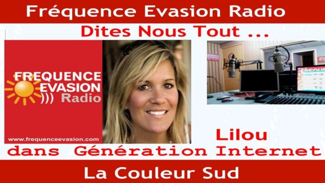 "RADIO -  Interview de Lilou sur ""Fréquence Evasion"" Monaco (Mp3)"