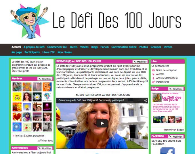 Relevez avec Lilou le Défi des 100 jours!