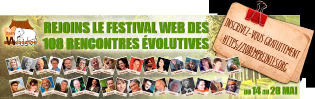 """Web événement - """"108 Empreintes sur la Terre-Mère au service de la cause évolutive"""" - 14 au 28 mai 2017"""