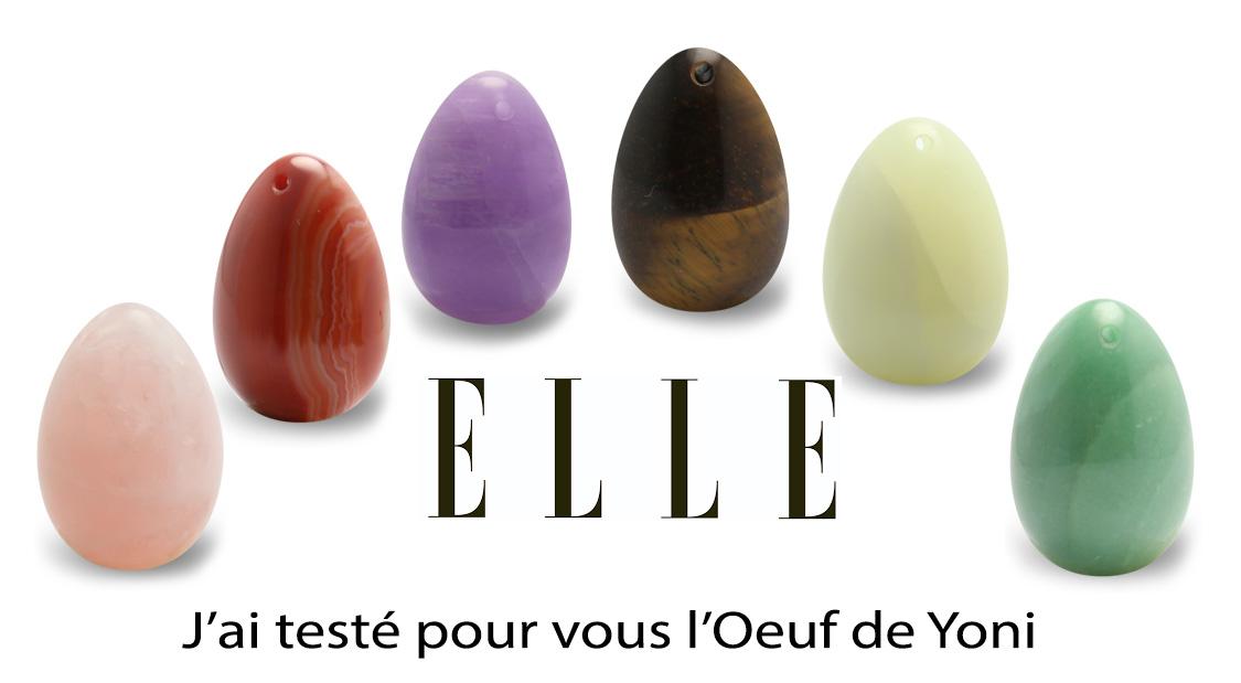 ELLE : J'ai testé pour vous l'œuf de yoni