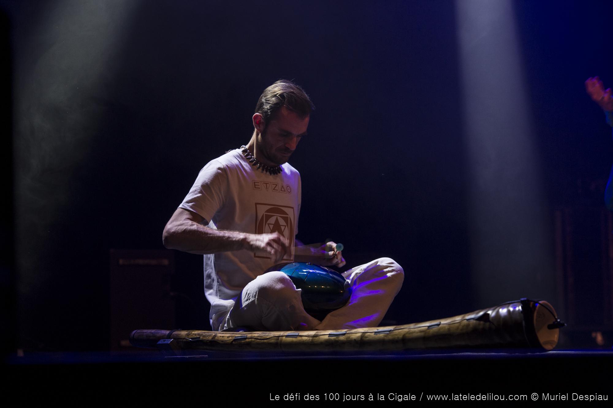 La Cigale (Replay 3/6) : ETZAO au Didgeridoo et B.E.A. One mum show & Ancrage WAKA - Paris - 22 avril 2018