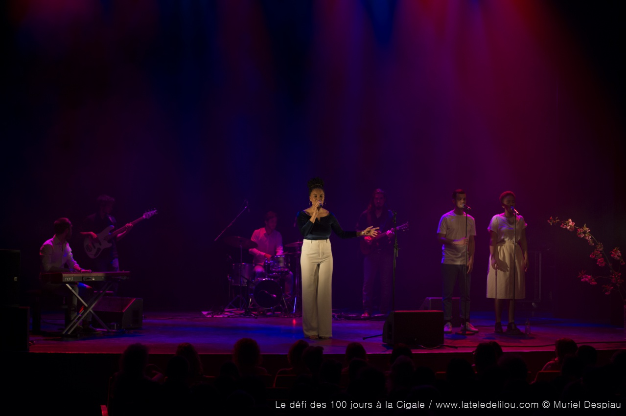 La Cigale (Replay 6/6) : Anna Winkin en LIVE - Paris - 22 avril 2018