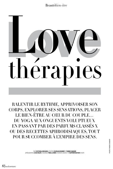 MADAME FIGARO: Love Thérapie. Tonifier son Périnée avec L'oeuf de Yoni.