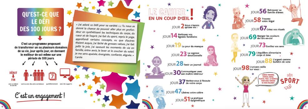 Le Défi Arc-en-ciel, un BEST OF exceptionnel du Défi des 100 Jours !