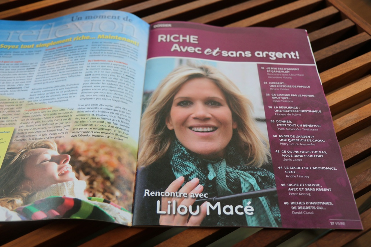 Riche avec et sans argent - Interview Geneviève Young, Québec