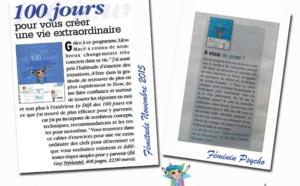 LE DÉFI DES 100 JOURS : On en parle dans la presse !