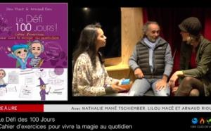 """Emission """"Livre à lire"""" - Le défi des 100 jours - Lilou Macé et Arnaud Riou"""