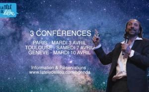 Nassim Haramein en France et en Suisse : Nous sommes tous reliés !