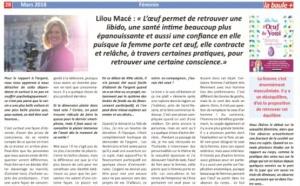 La Baule + MARS 2018 : Secret de femmes
