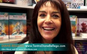 Le Tantra et Pratiques Tantriques - Diane Bellego au salon du livre 2010