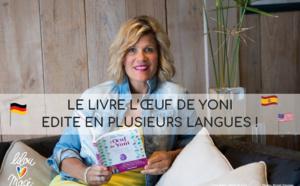 Le livre L'Oeuf de Yoni de Lilou Macé édité en plusieurs langues !