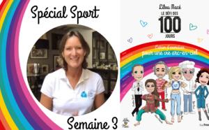 SEMAINE 3 : DÉFI ARC-EN-CIEL 🌈Séance sport Défi Arc-en-ciel avec Cécile Jeanson, 3 JO
