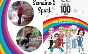 SEMAINE 5 : DÉFI ARC-EN-CIEL 🌈Séance sport Défi Arc-en-ciel avec Régine Petit - Danse Nia