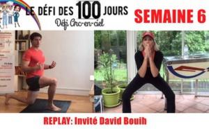 SEMAINE 6 : DÉFI ARC-EN-CIEL 🌈Séance sport Défi Arc-en-ciel avec David Bouih