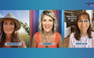 Invitées : Marion Kaplan et Marie Sophie L - Transformer la contrainte alimentaire en plaisir 🌈 La Matinale de Lilou du 12 mai 2020