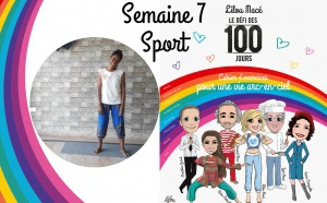 SEMAINE 7 : DÉFI ARC-EN-CIEL 🌈Séance sport Défi Arc-en-ciel avec Dji Adogli - Danse Afro Tao Healing