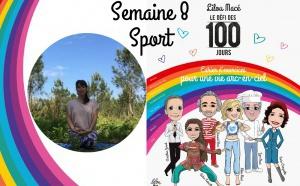 SEMAINE 8 : DÉFI ARC-EN-CIEL 🌈Séance sport Défi Arc-en-ciel avec Laura Lobjoit - Rainbow vinyasa yoga