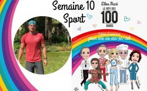SEMAINE 10 : DÉFI ARC-EN-CIEL 🌈Séance sport Défi Arc-en-ciel avec David Bouih
