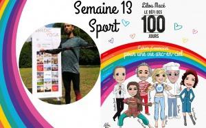 SEMAINE 13 : DÉFI ARC-EN-CIEL 🌈Séance sport Défi Arc-en-ciel avec Thomas Faillat