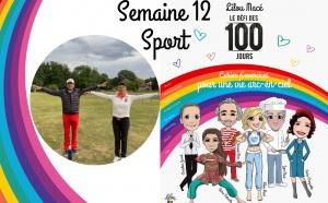 SEMAINE 12 : DÉFI ARC-EN-CIEL 🌈 Séance sport Yo-Golf avec Stéphane Bachoz et Olga Leonovitch