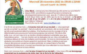 EVENEMENT COMPLET - 28 Nov 2012 à Paris -  Librairie l'Univers d'Esther