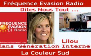 """RADIO -  Interview de Lilou sur """"Fréquence Evasion"""" Monaco (Mp3)"""