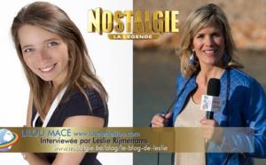 Lilou Mace Interviewée par Leslie sur Radio Nostalgie Belgique