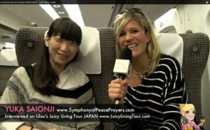Élever la conscience de l'humanité & Paix mondiale - Yuka Saionji, Japan