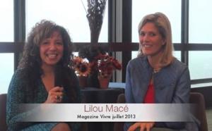 Lilou Macé - Entrevue Magazine Vivre juillet 2013