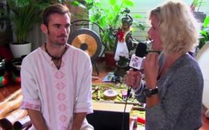 Guérison par le didgeridoo et le son - Étienne Avronsart