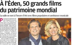 LA PROVENCE (1 juillet) A l'Éden, 50 grands films du patrimoine mondial