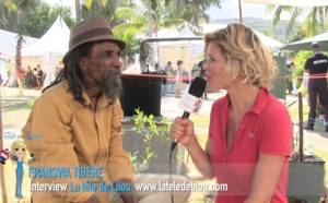 Communiquer avec la nature et la terre - Franswa Tibère, La Réunion